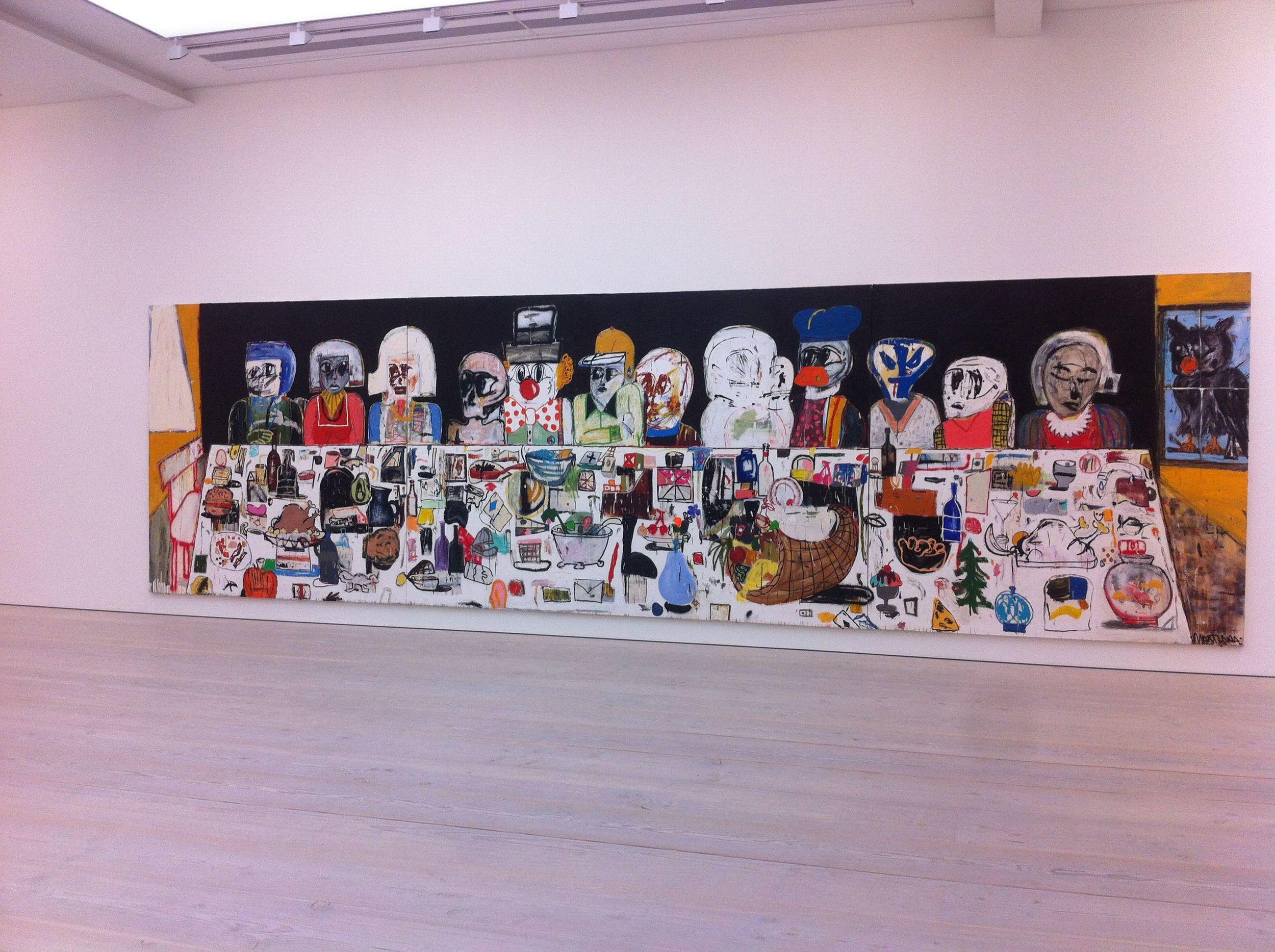 Body Language - Eddie Martinez @ The Saatchi Gallery