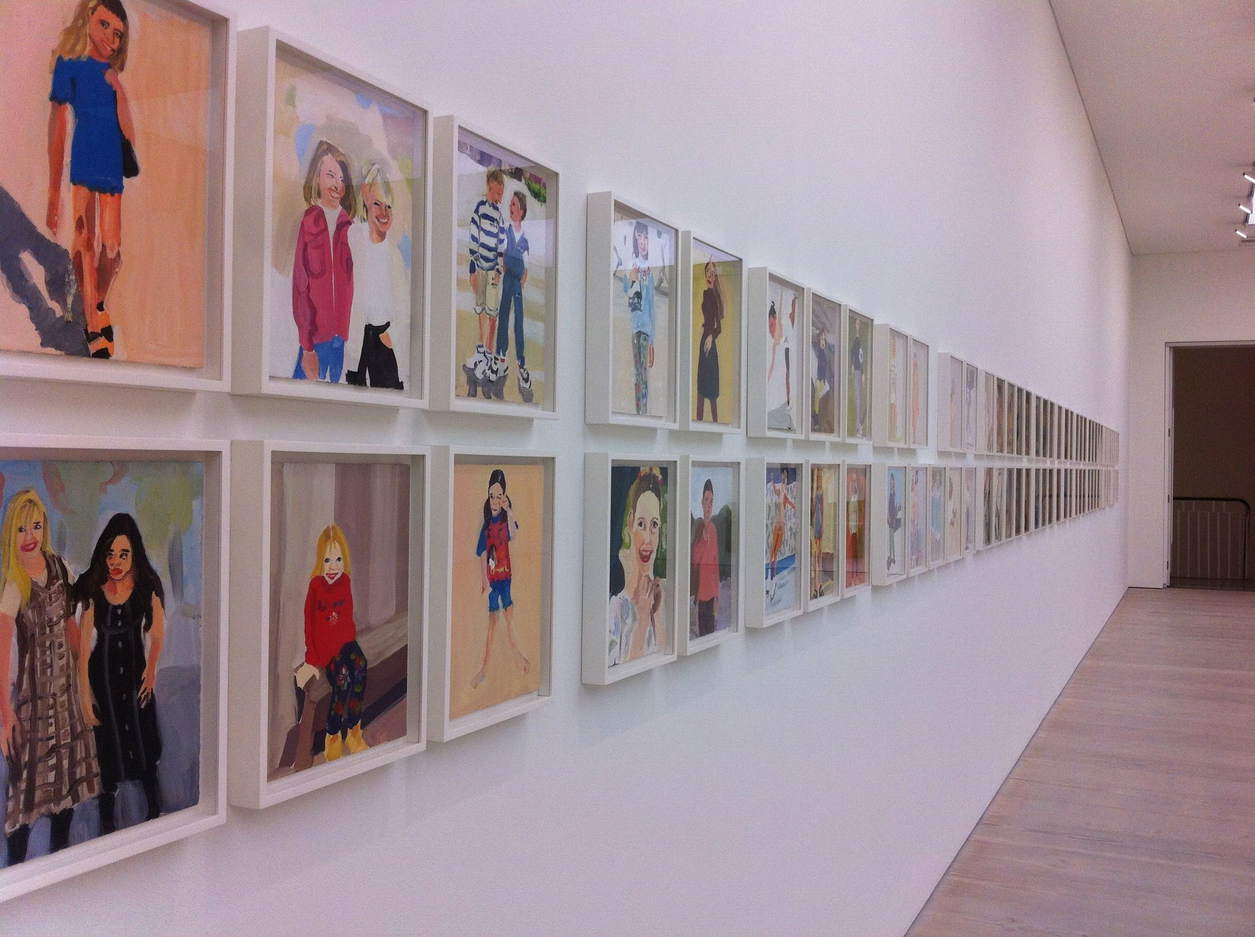 Body Language - Chantal Joffe @ The Saatchi Gallery