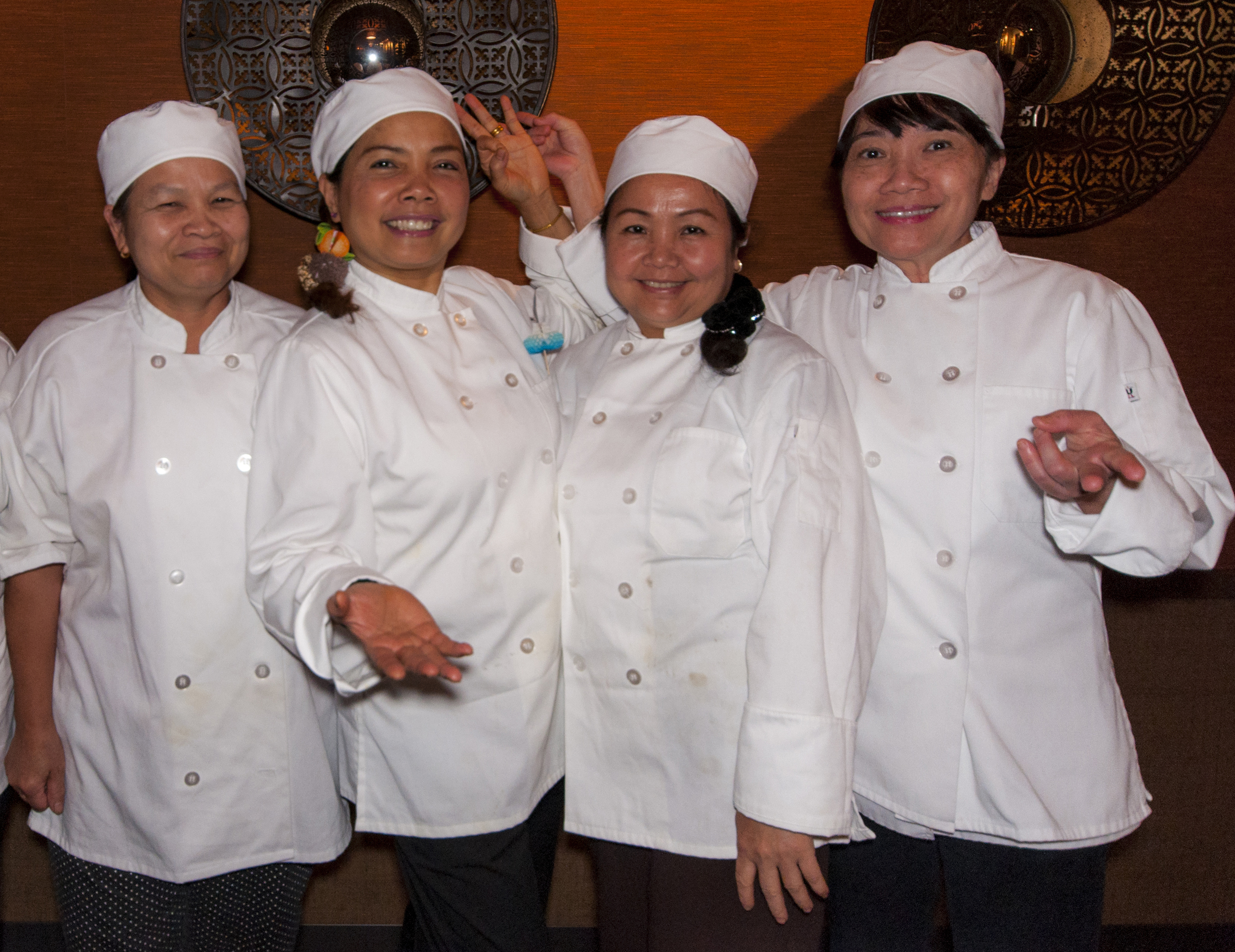 Our talented chefs.