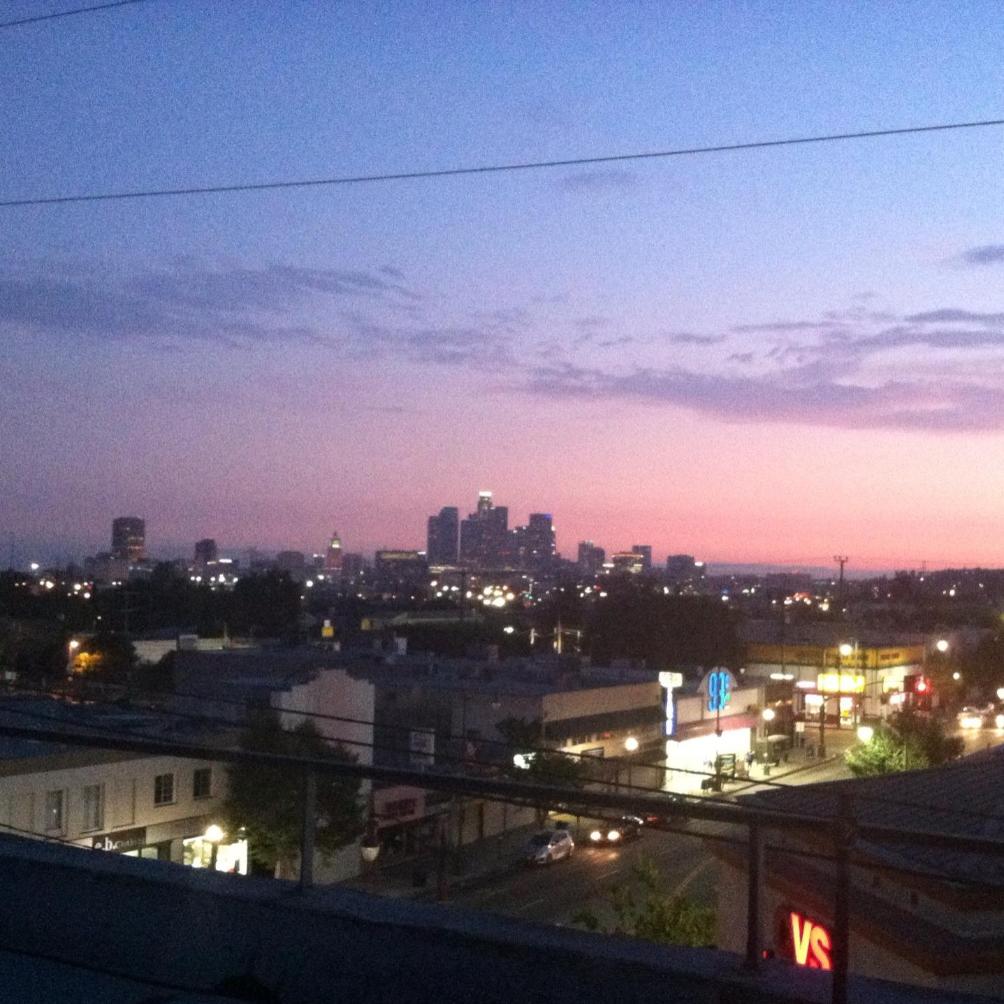 view from my building in Lincoln Heights