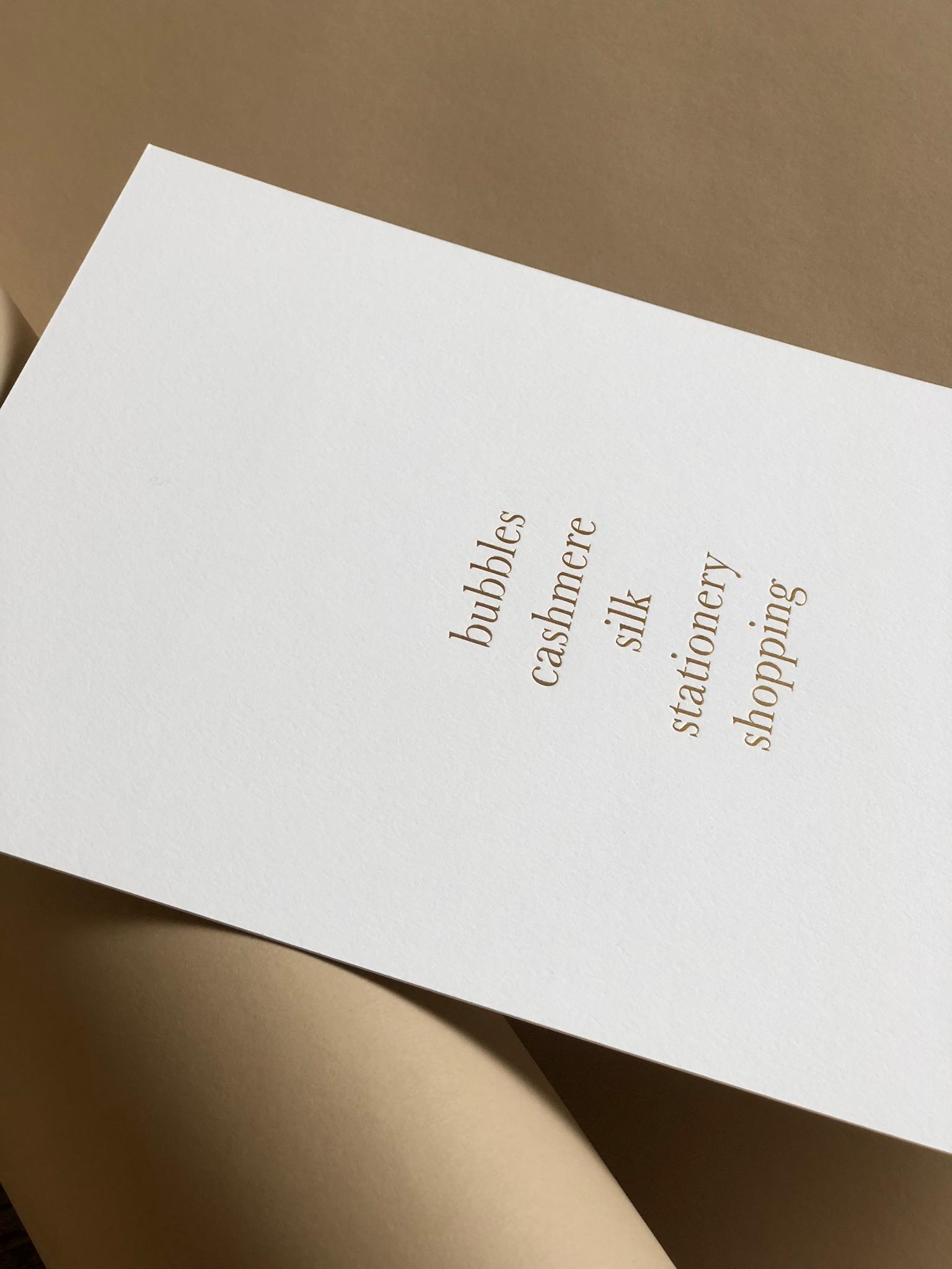 Alissa Bell & Frances Austen Invitation