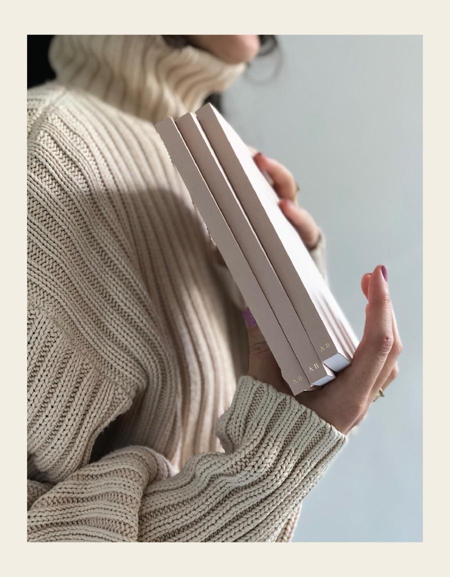 Alissa Bell Nude Notebook
