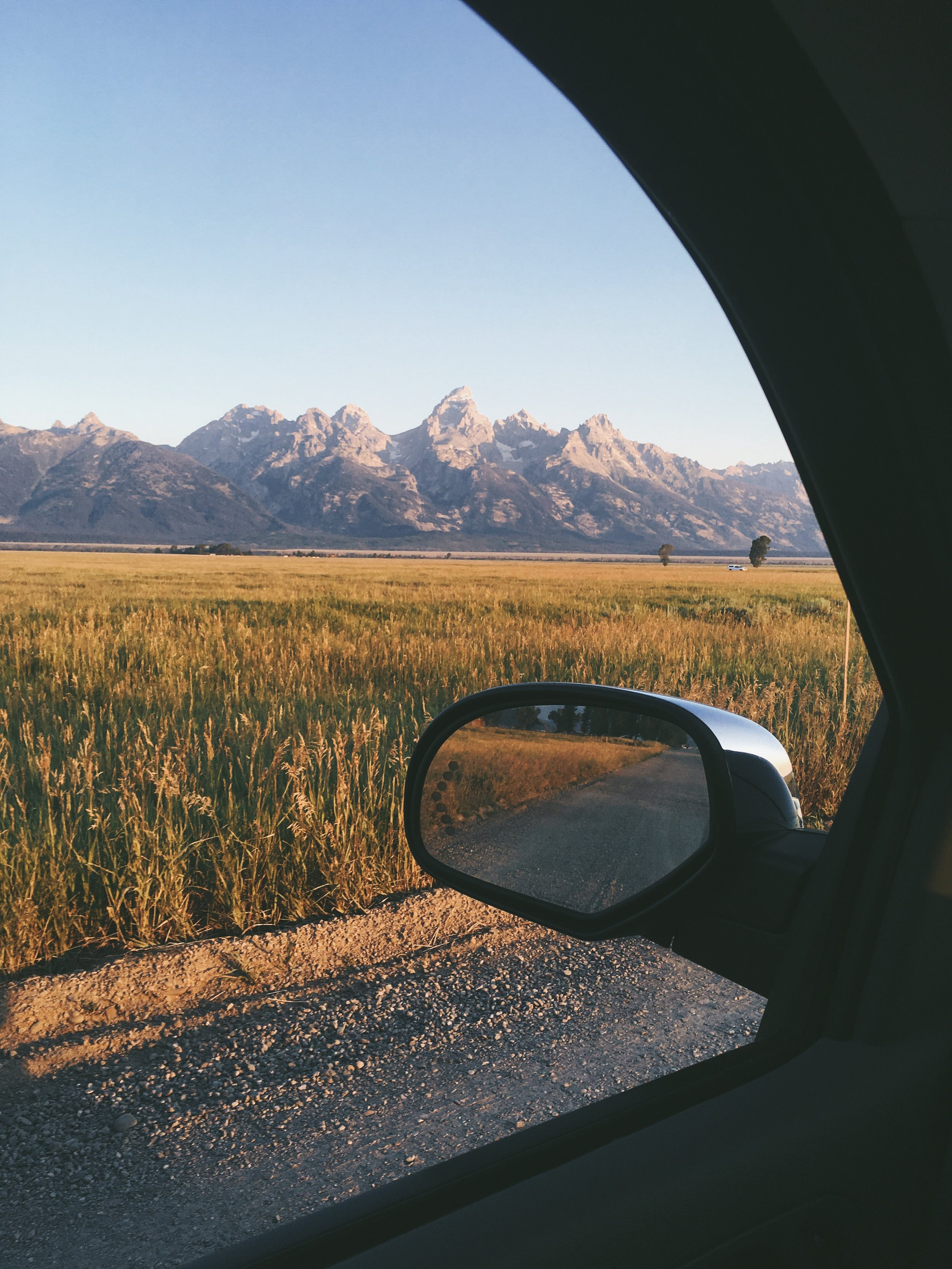 Took a little drive to catch the sunrise on the Tetons.| Grand Teton National Park