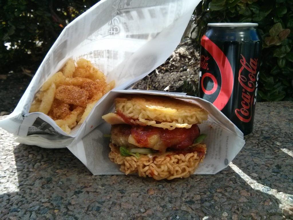 Ramen Burger Combo