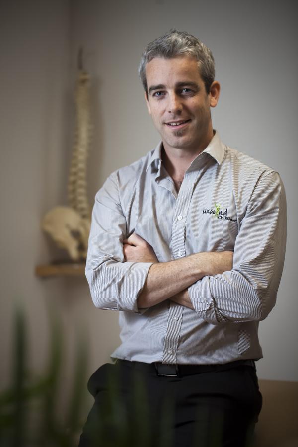 Sydney Chiropractor Portrait