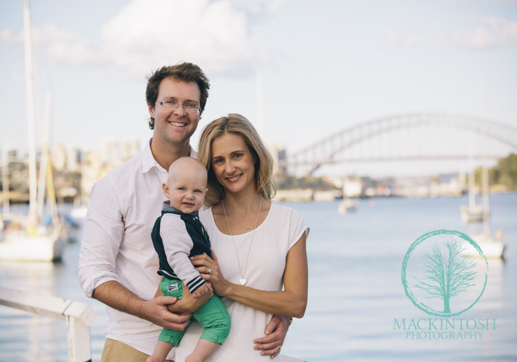 Sydney Harbour family Portraits