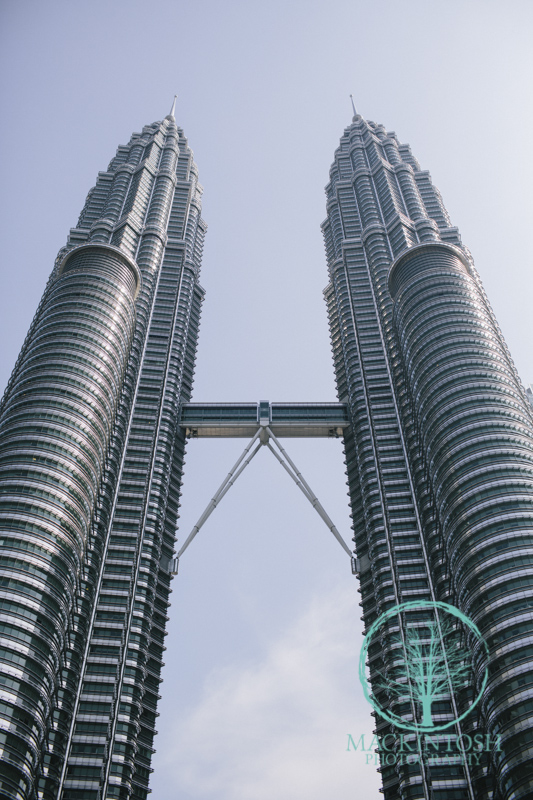 Architectural photograph Petronas Twin Towers