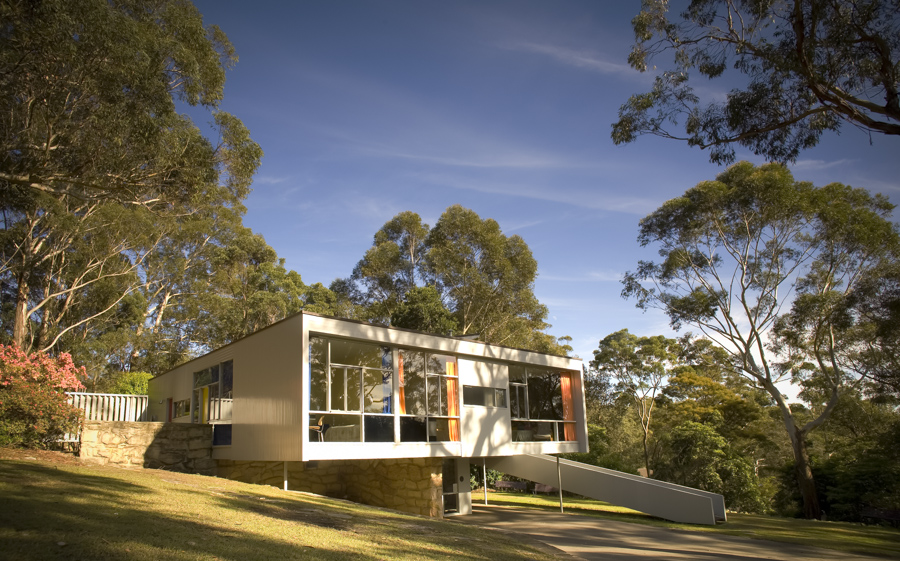 The iconic Rose Seidler House, Wahroonga