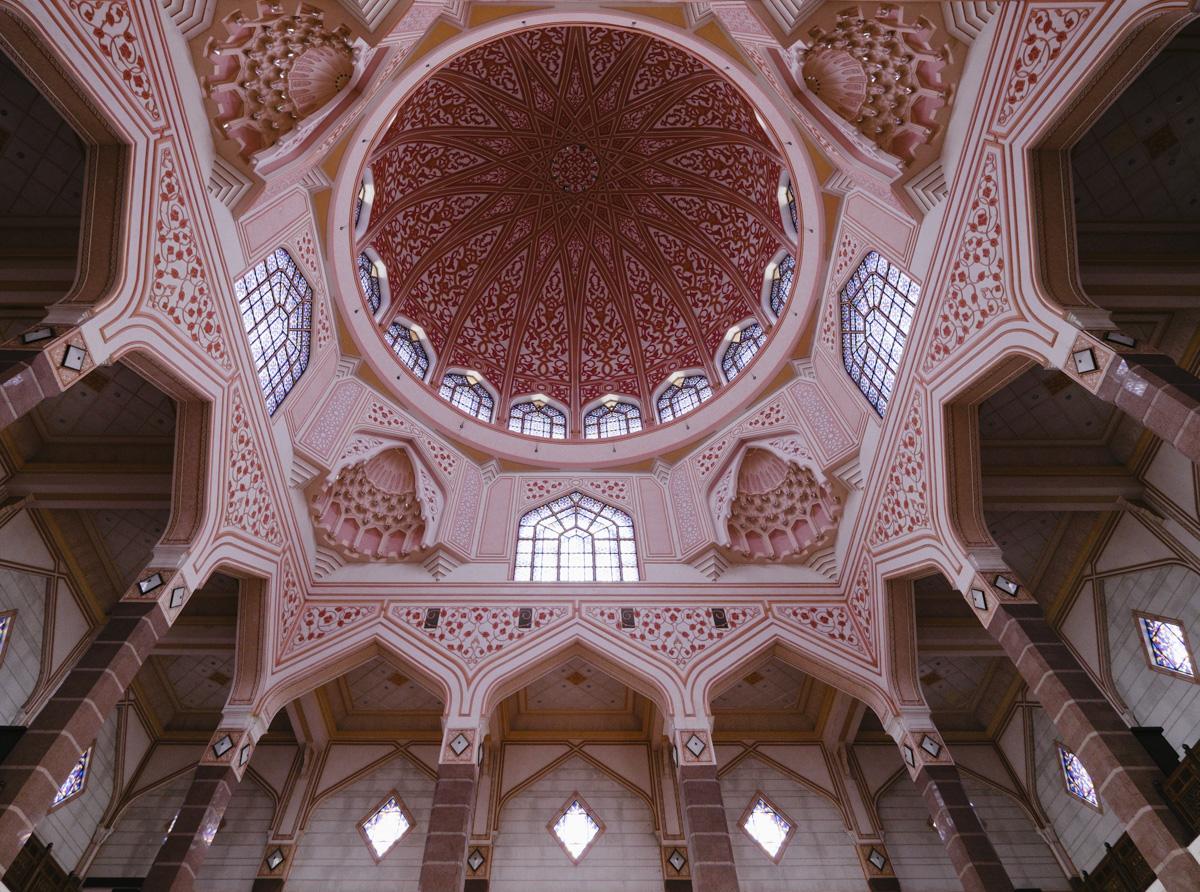 Stunning Islamic architecture. Putrajaya, Malaysia.