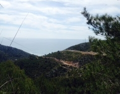 A stunning view from Garraf National Park!