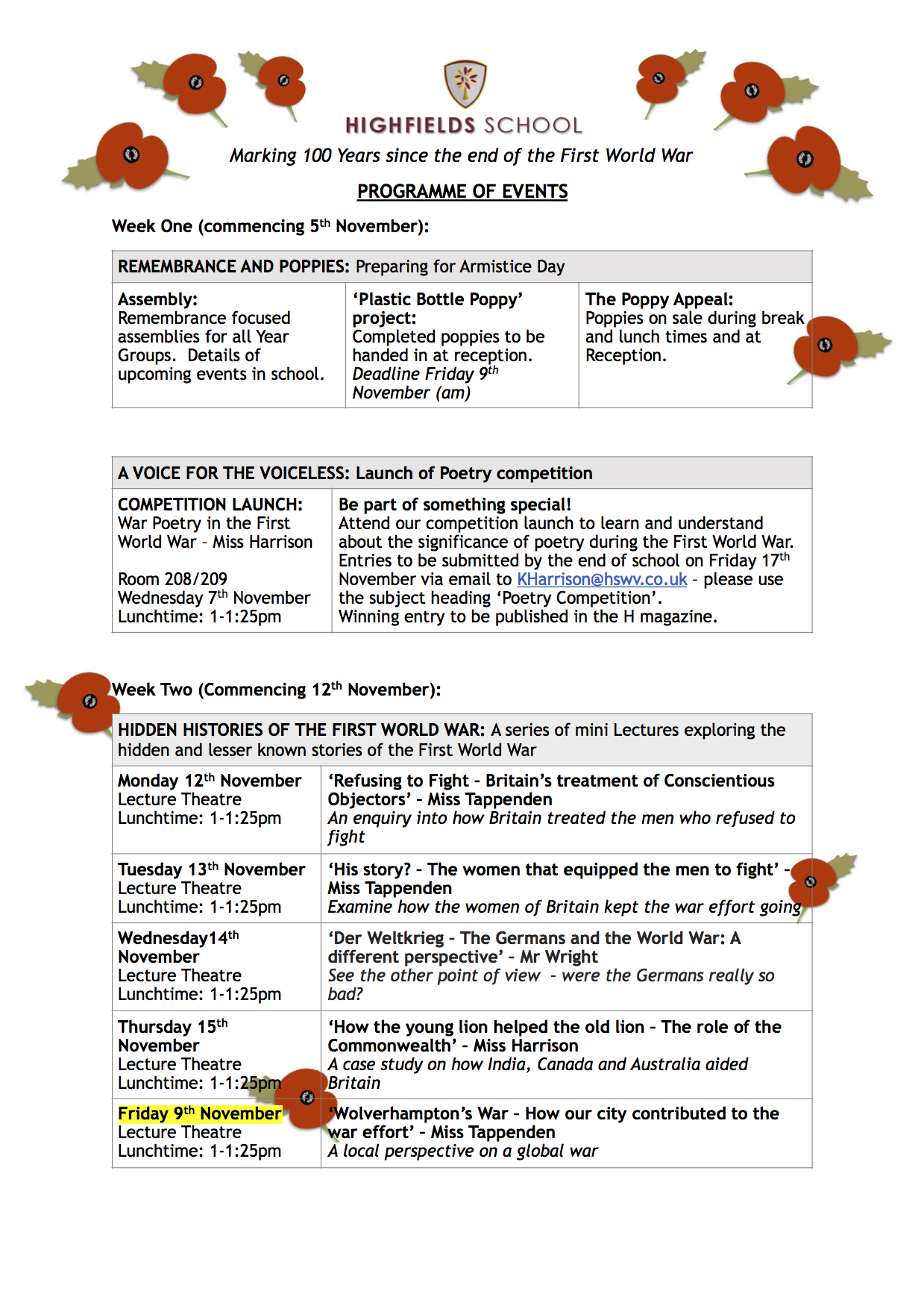 Remembrance 2018 - Student copy programme of events 4.jpg