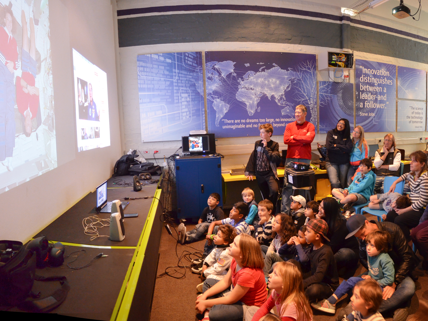 Cape Town Science Center, South Africa (photo Steve Sherman/Living Maths)