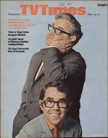 The Two Ronnies was my favourite show in the whole entire world when I was a little boy. Ronnie Corbett would do a bit on the show where he sat in a big armchair and told a joke. He would go off on a zillion tangents before getting to the punchline. As a kid it drove me CRAZY! I'd yell at the TV: Get on with it!!!!!!!!!