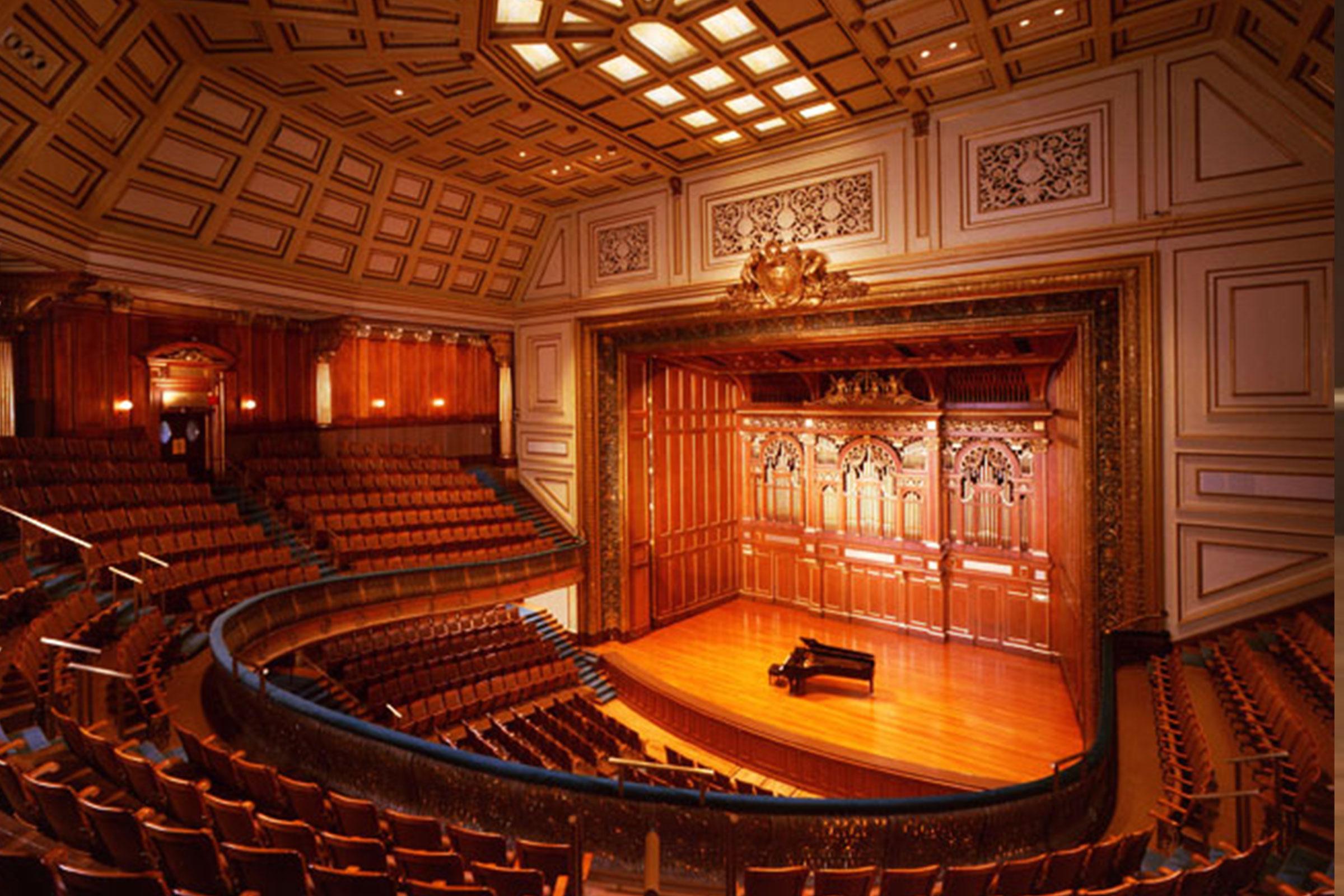 Jordan Hall  New England Conservatory