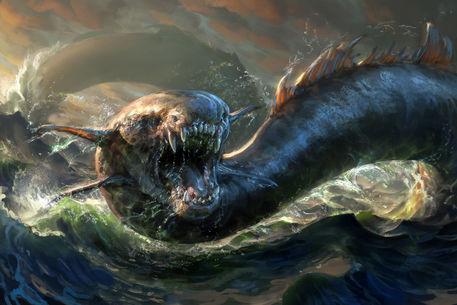 Leviathan. It's not really making you feel better, is it?