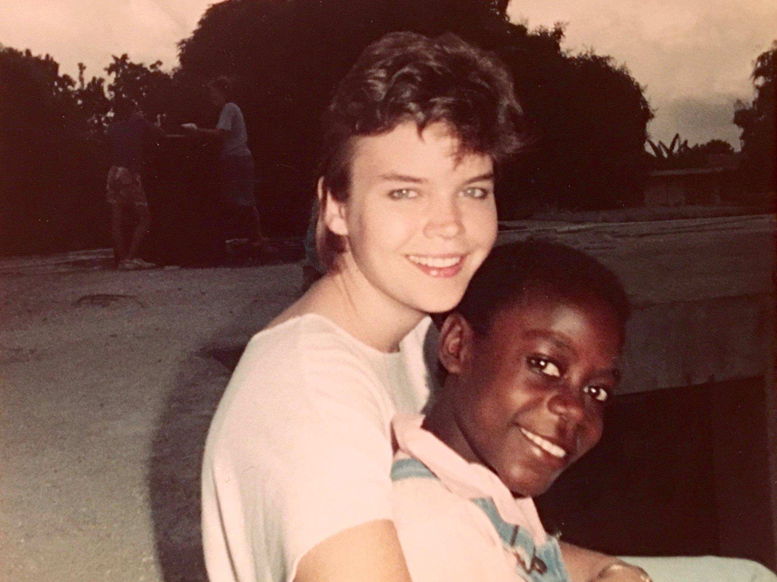 Katie, Haiti. January 1988.