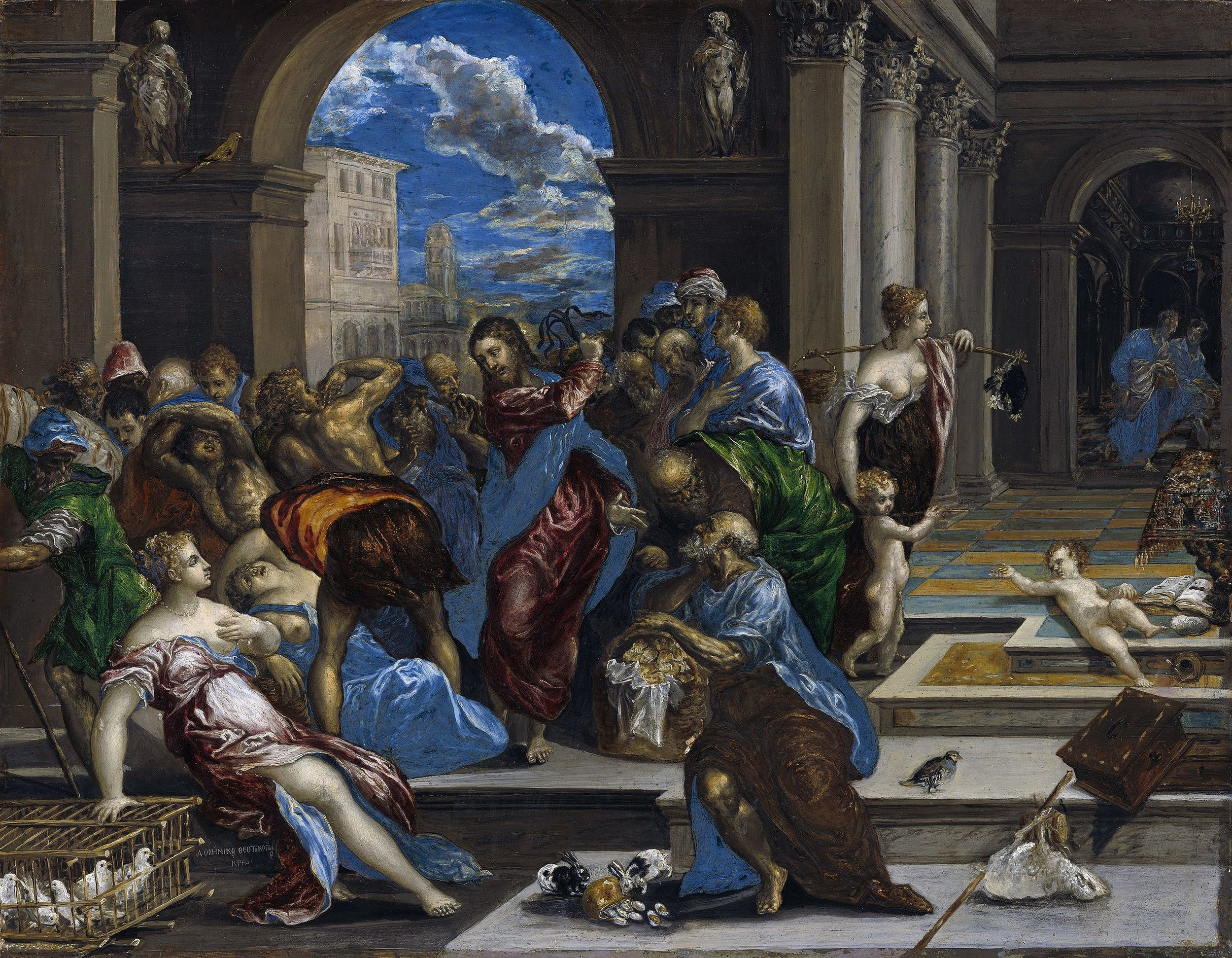 El Greco paints the Jesus who wasn't concerned with being liked.