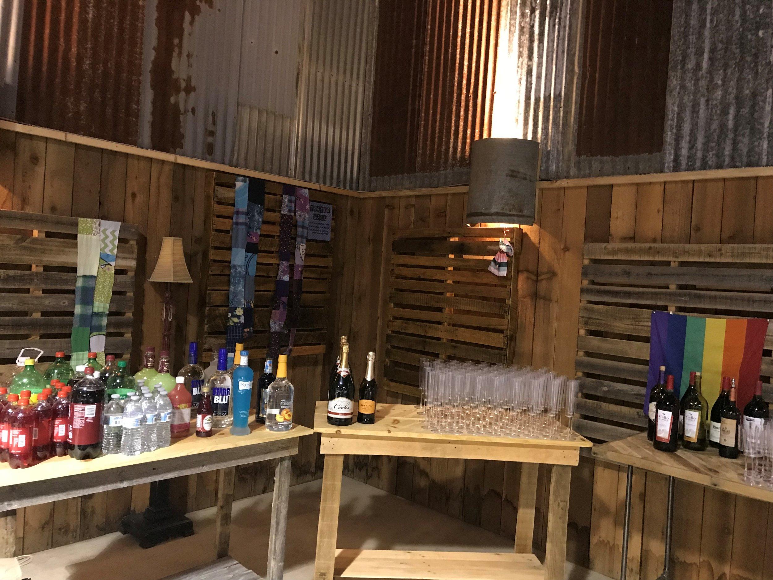 Prayer Wall & Tables