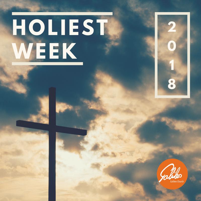 Holiest Week 2018