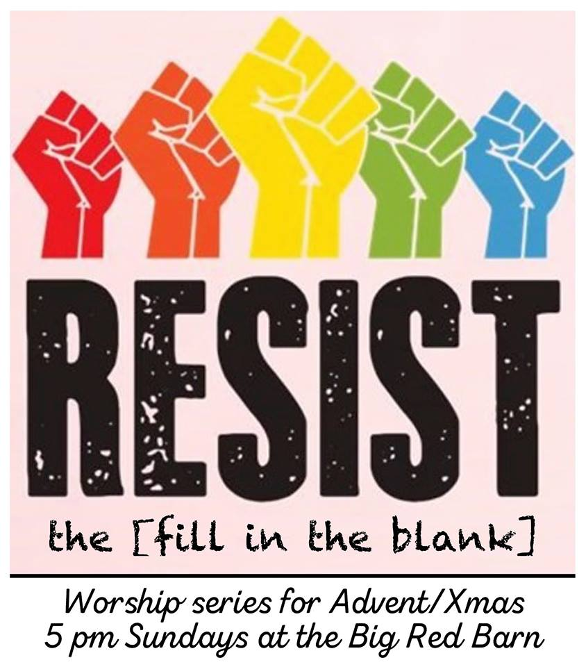 Resist the [Fill in the Blank]