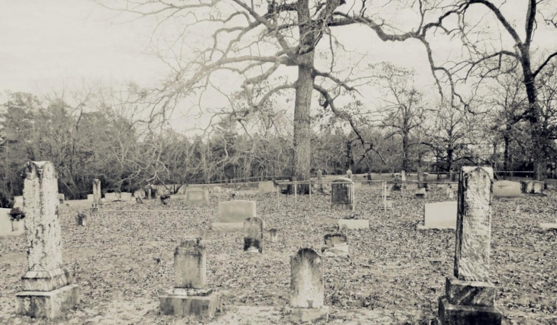 Old Shelby Cemetery is home to a spirit that stalks visitors even during the day.