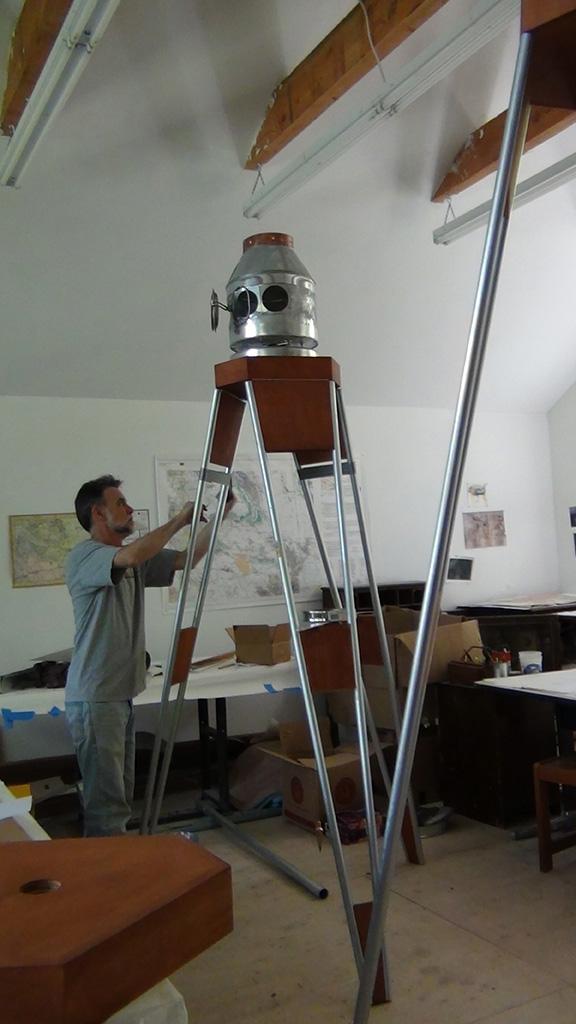 Surveyor's Transits in Studio