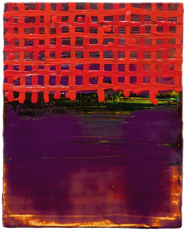 "Heidi Pollard   Red Heaven,  2007   Oil on canvas   10"" x 8""   Retail Value: $700   Opening Bid: $275"