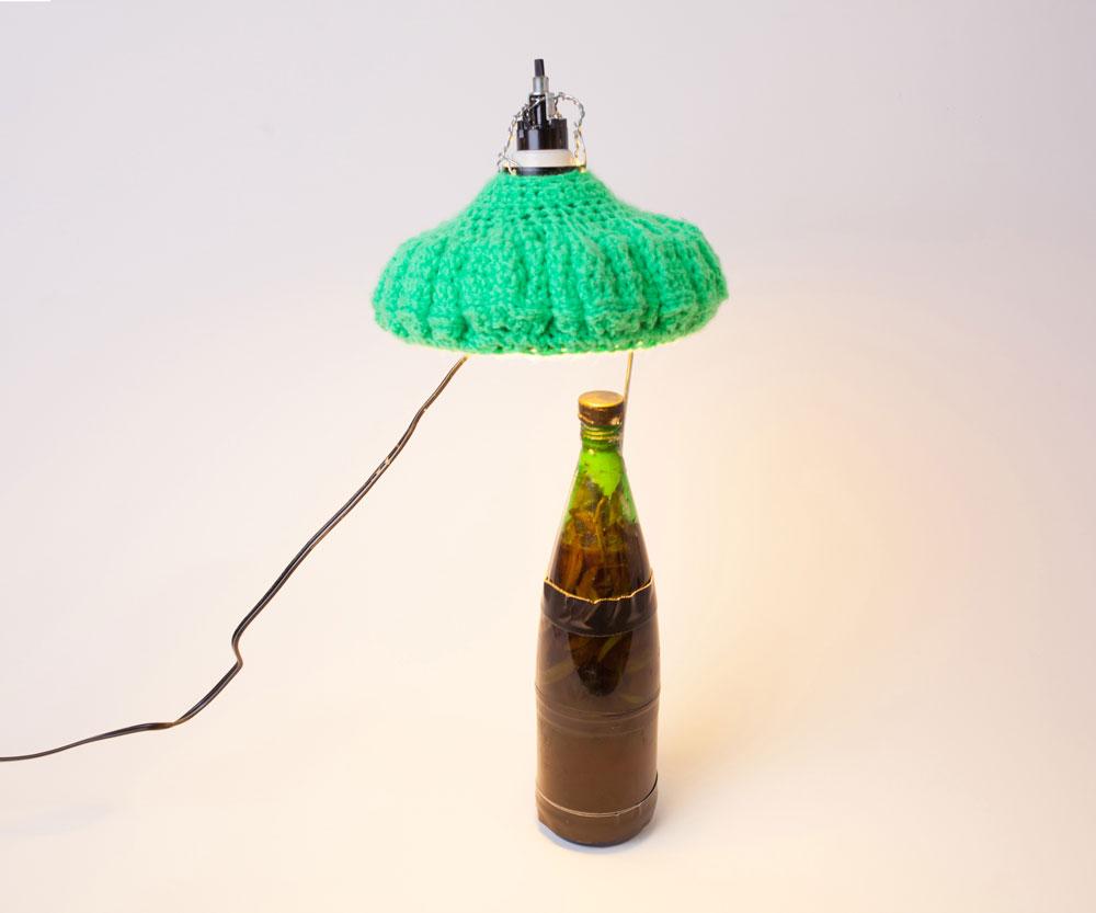 Crochet Lamp, 2014
