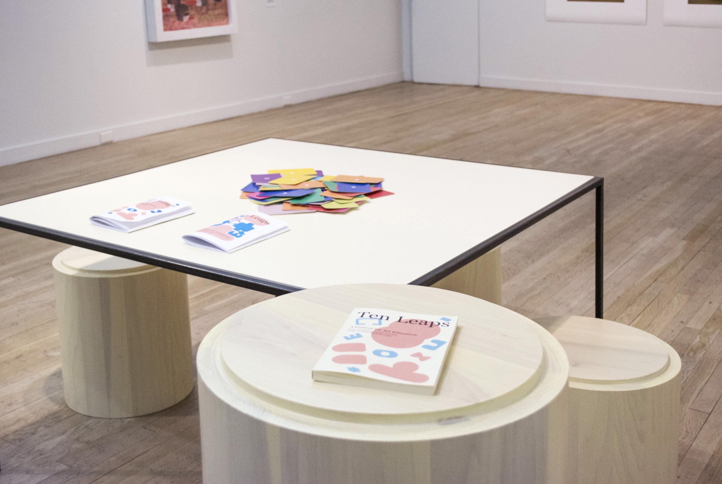 Susan Jahoda, Emilio Martinez Poppe, and Caroline Woolard of BFAMFAPhD, Ten Leaps: A Lexicon for Art Education , 2015-ongoing