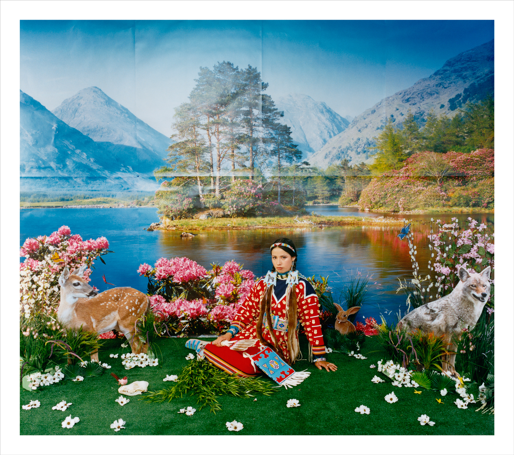 Wendy Red Star,  Spring (Four Seasons Series) , 2006, archival pigment print.