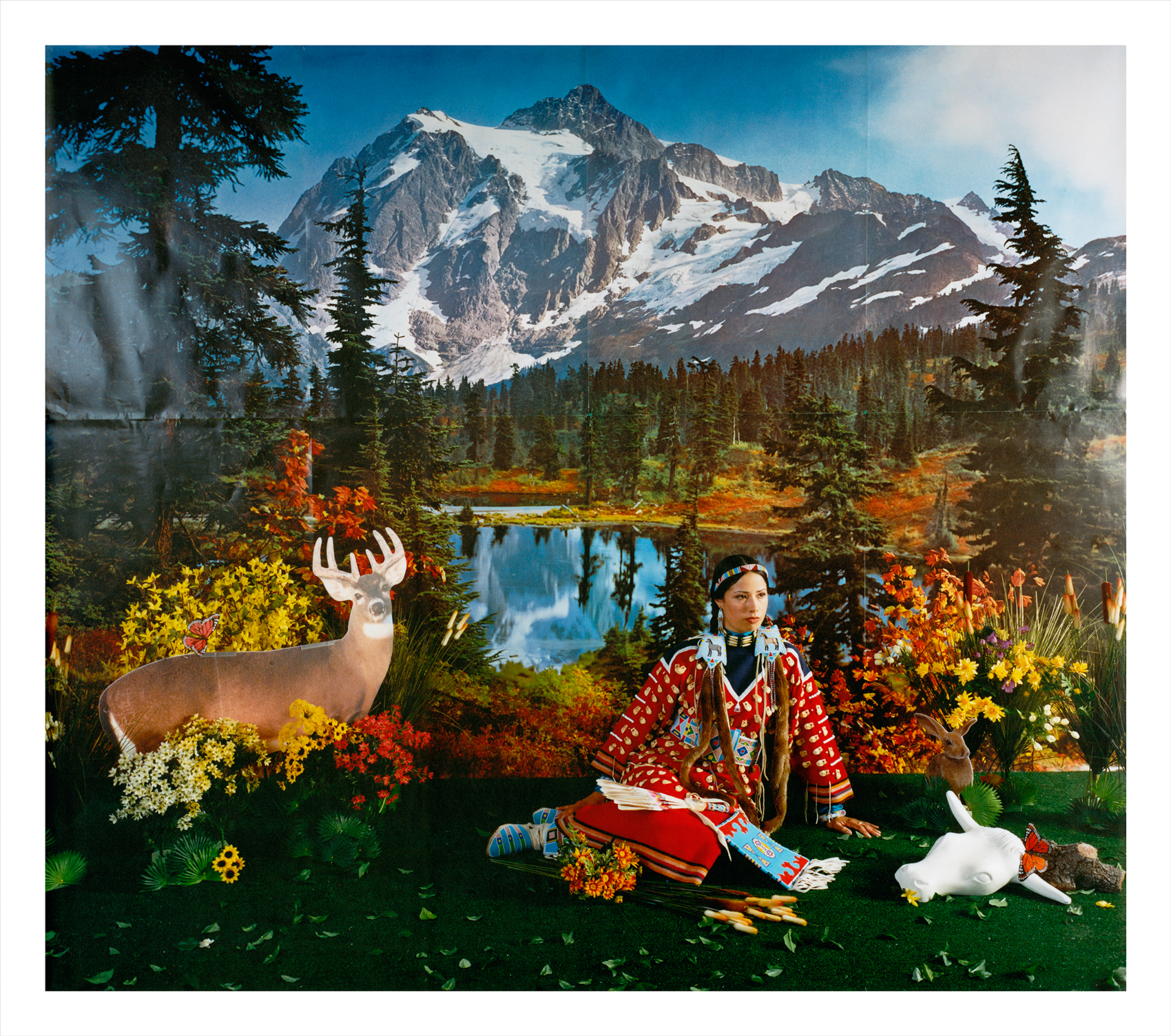 Wendy Red Star,  Summer (Four Seasons Series) , 2006, archival pigment print.