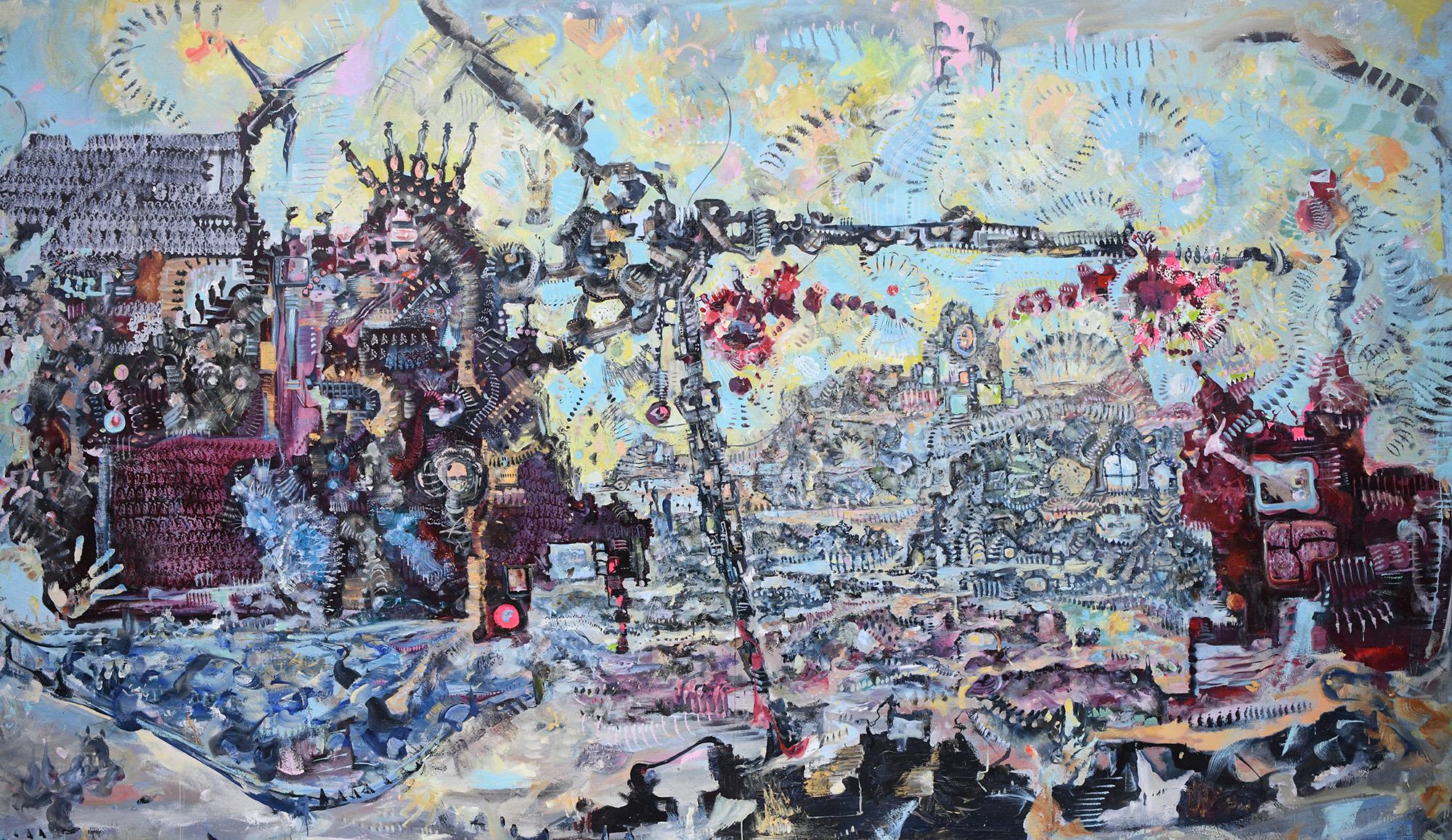 James Yakimicki:  Knitty Griddy  Curator-Mentor: Gregory Amenoff