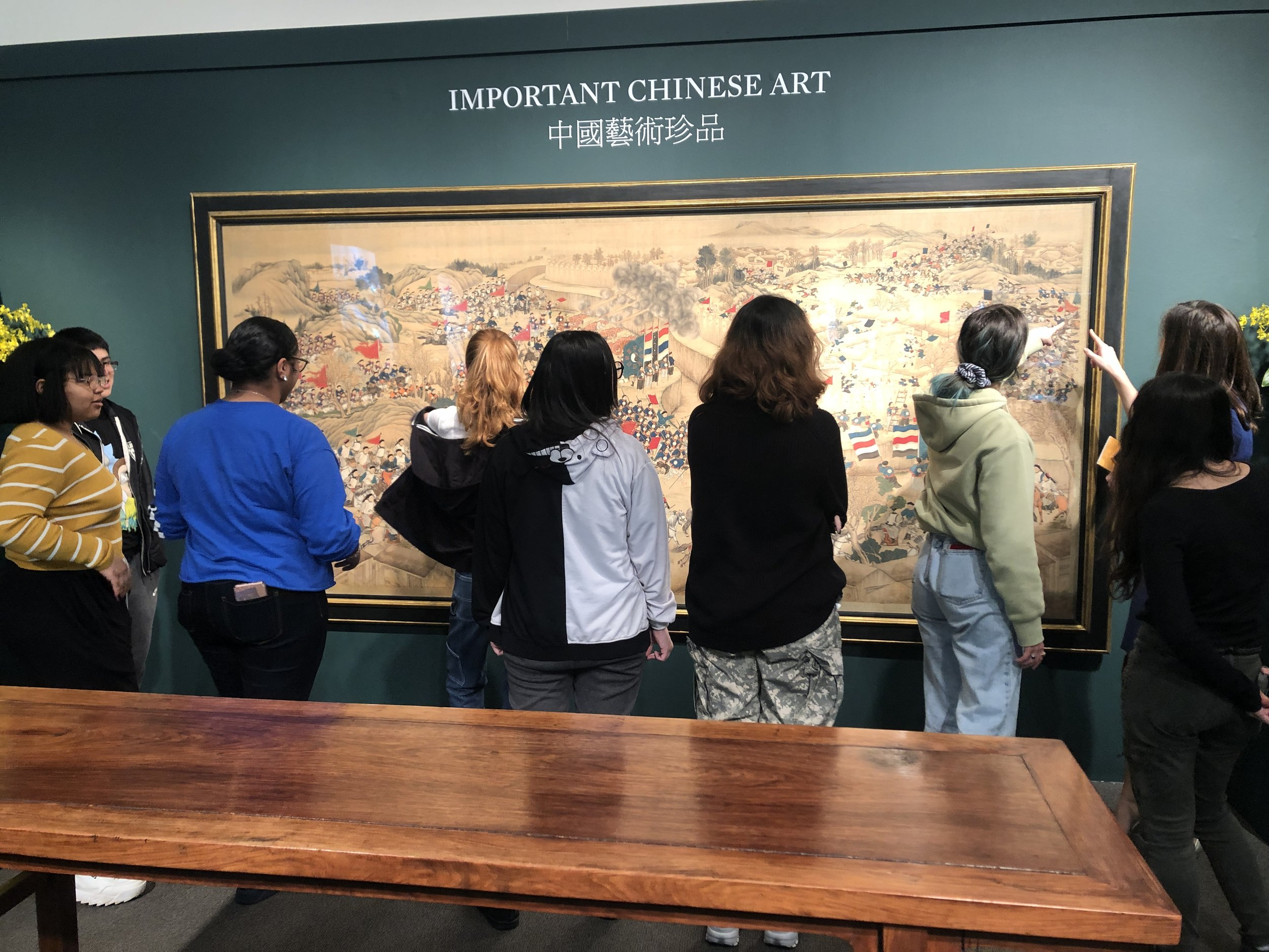 The CTC visits Sotheby's with Leah Adamucci, Samantha Anderson, and Rebecca Lockwood and tours the Asia Week Spring 2019 exhibition.