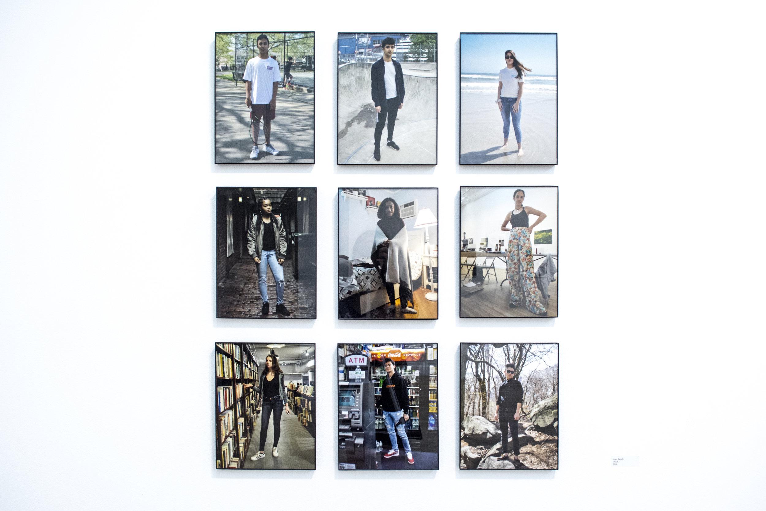 Jason Bacalla  Solace , 2018 Digital color photographs on Kodak Endura matte paper