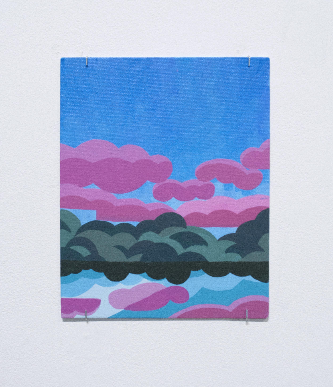 Nina (Al) Gatta  Untitled , 2018 Acrylic on canvas