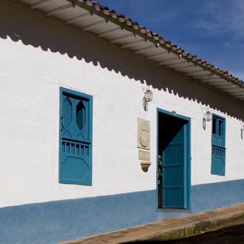 Street Façade of the Posada