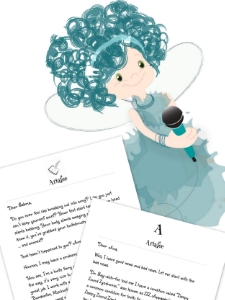 Printable tooth fairy letter bundle from Tooth Fairy Ariafee