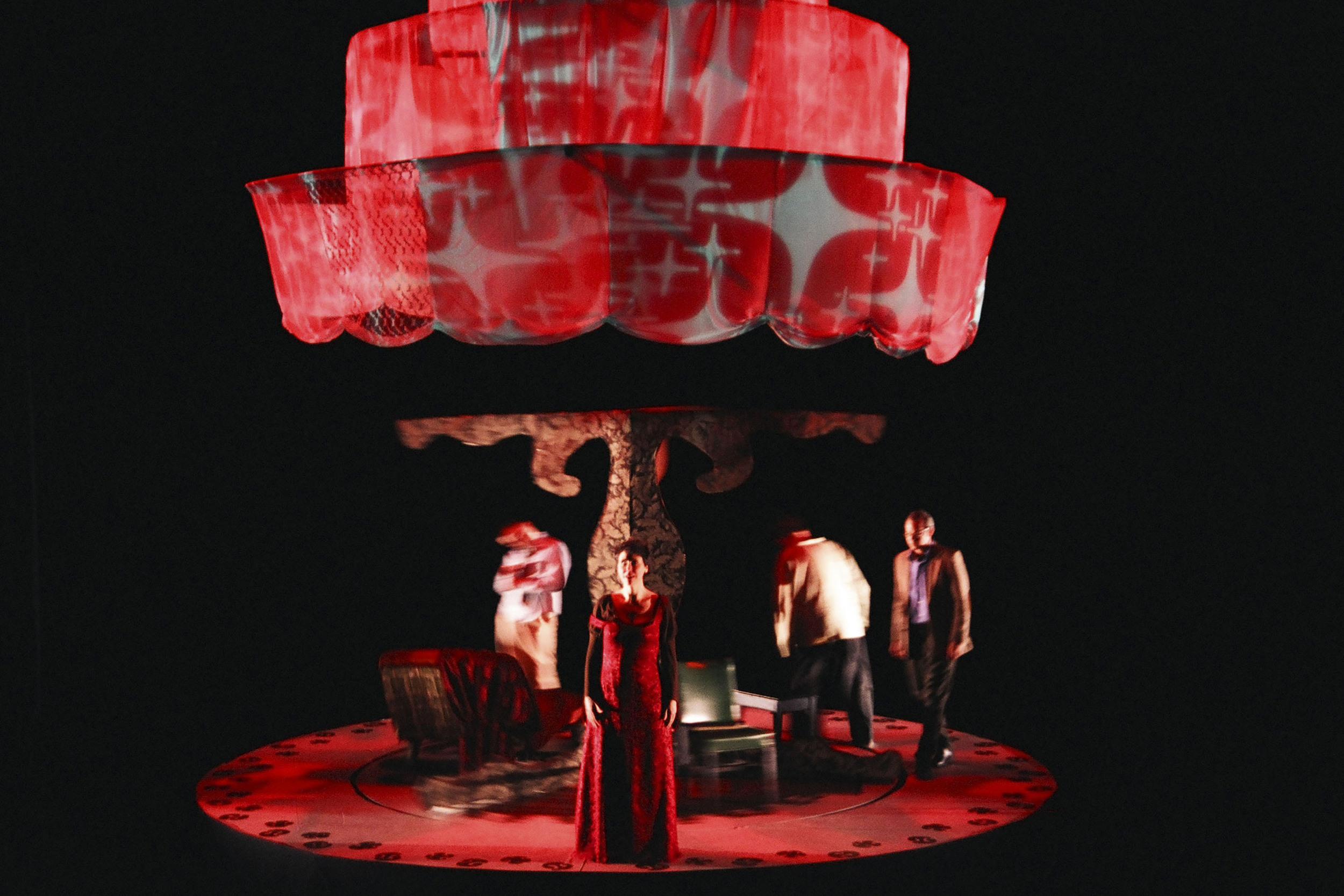 Pictured Scott Barsotti, Jenny Magnus, HB Ward, Guy Massey. Photo: Kristin Basta. Museum of Contemporary Art 2008.