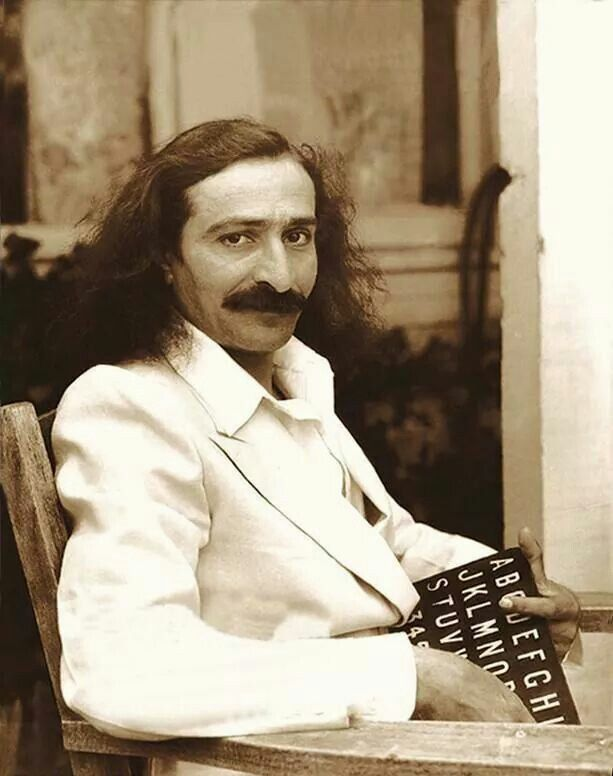 AVATAR MEHER BABA in Los Angeles (Hollywood), May-June 1932.