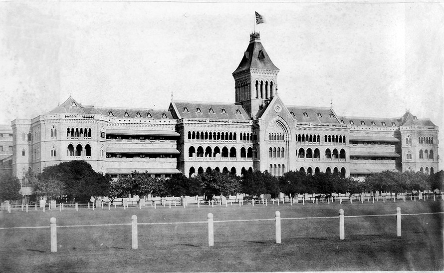 SASSOON GENERAL HOSPITAL in Pune (then Poona), India, circa 1850s, where Merwan Sheriar Irani - later called Meher Baba - was born.