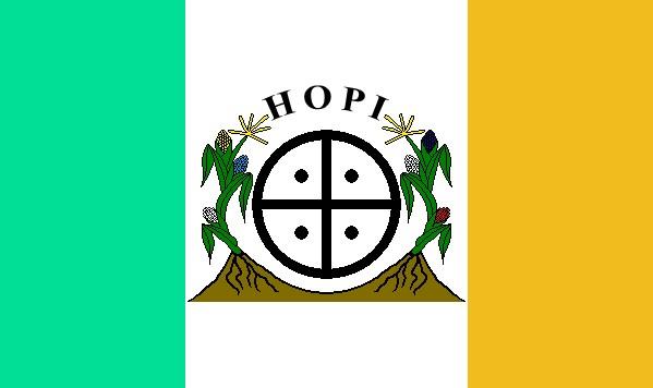 FLAG of the Hopi Nation. (Photo:  Wikipedia .)