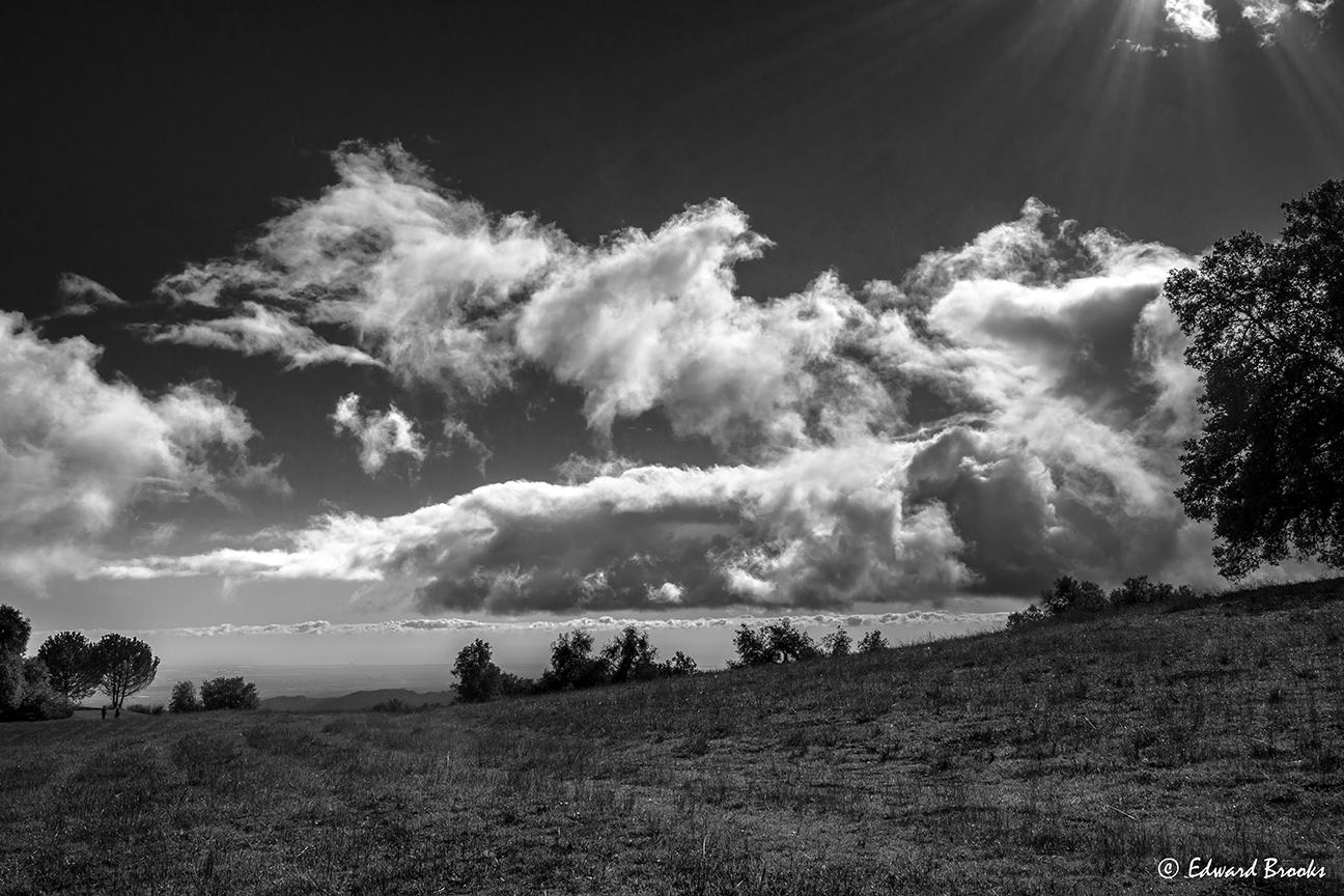 DRAMATIC SKIES at Meher Mount for  Amartithi  2016. (Photo: (c) Eddie Brooks)