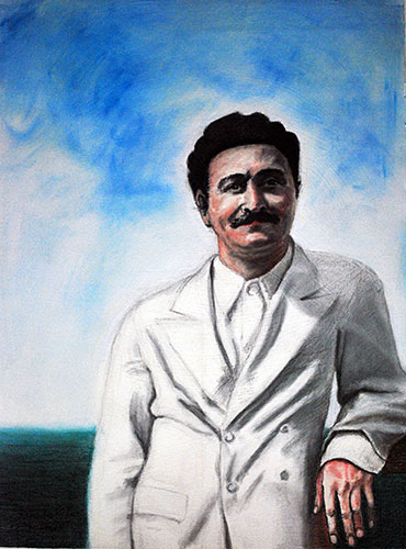 AVATAR MEHER BABA by Diana Le Page. (Source: Meher Studio)