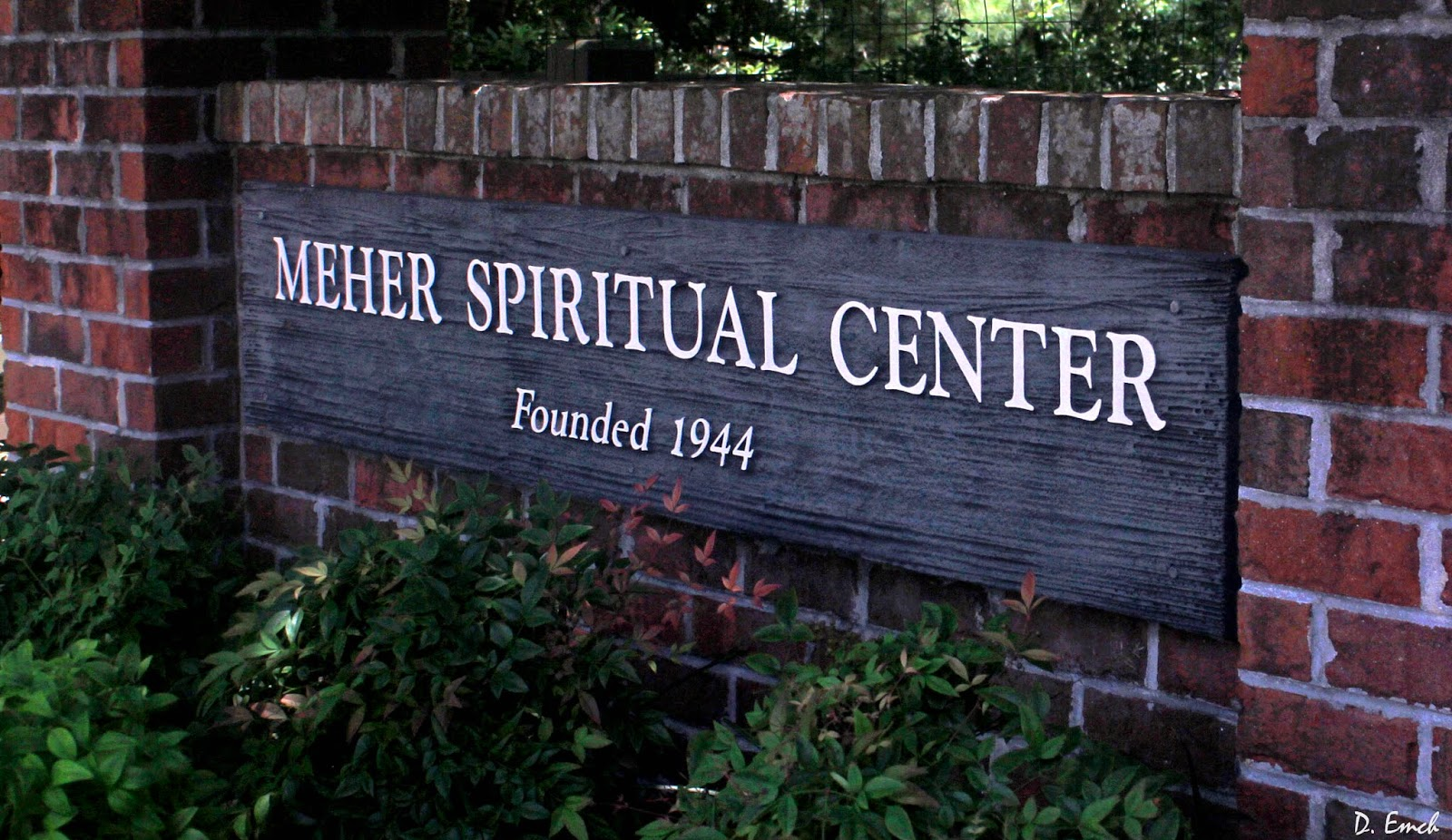 """THE MEHER SPIRITUAL CENTER in Myrtle Beach, SC, is considered Avatar Meher Baba's """"Home in the West."""" It was founded by Western disciples Elizabeth Patterson and Norina Matchabelli. (Photo:  Meher Spiritual Center )"""