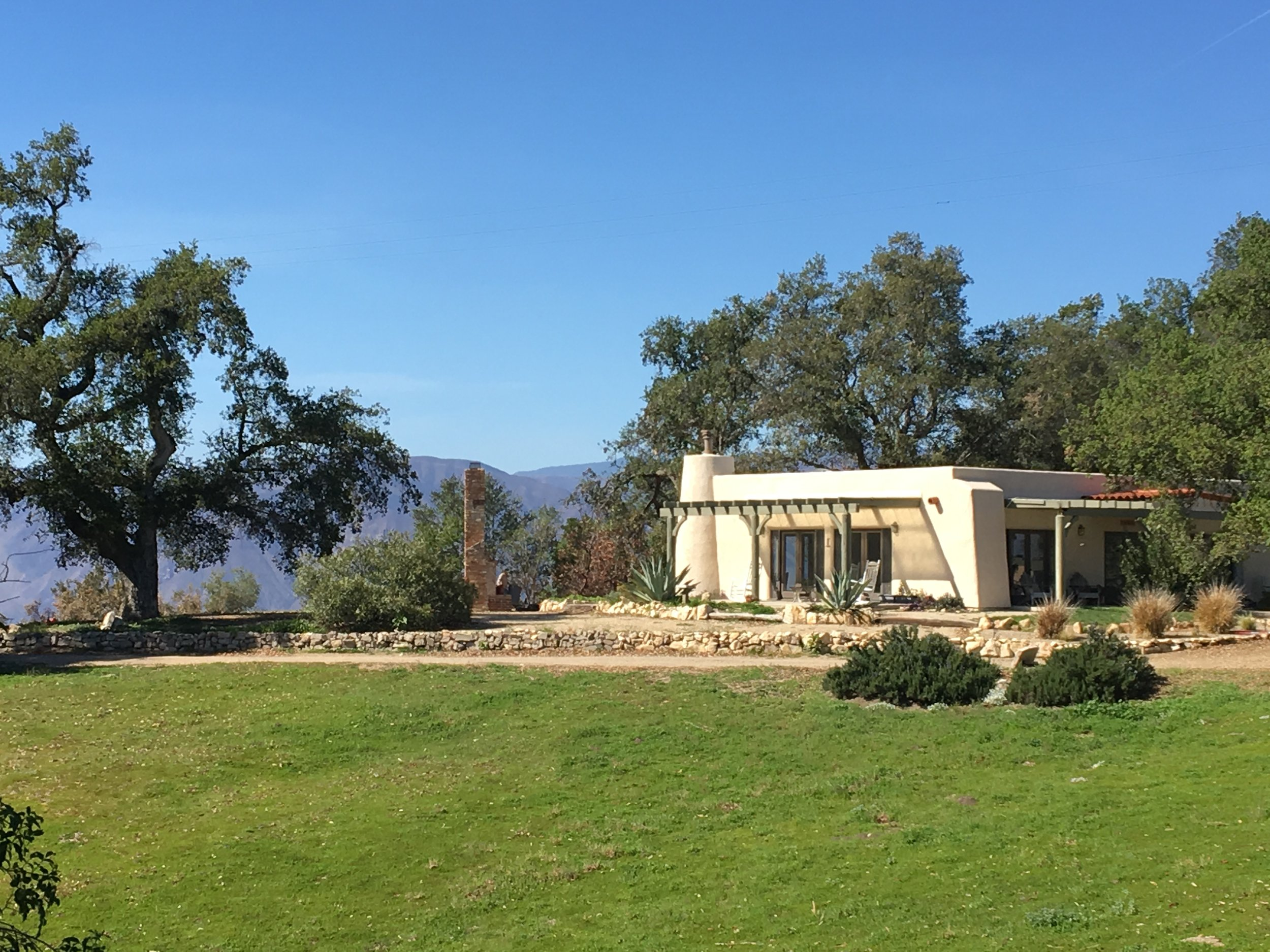 THE VIEW to the Ojai Valley is unobstructed, opening up the area by Baba's Fireplace. (Photo: Cassandra Bramucci, March 30, 2018)