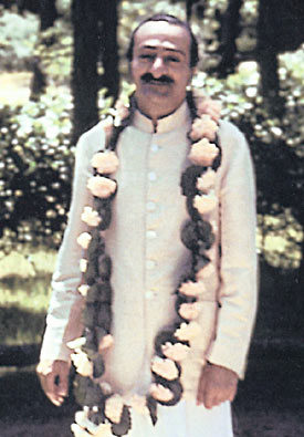 AVATAR MEHER BABA at the Meher Spiritual Center in Myrtle Beach, SC, 1956.