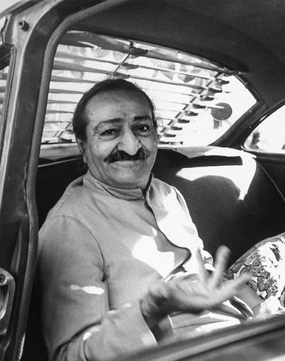 AVATAR MEHER BABA communicating only with hand gestures after He stopped using the alphabet board in 1954. He was silent from July 10, 1925 until He dropped His body on January 31, 1969.