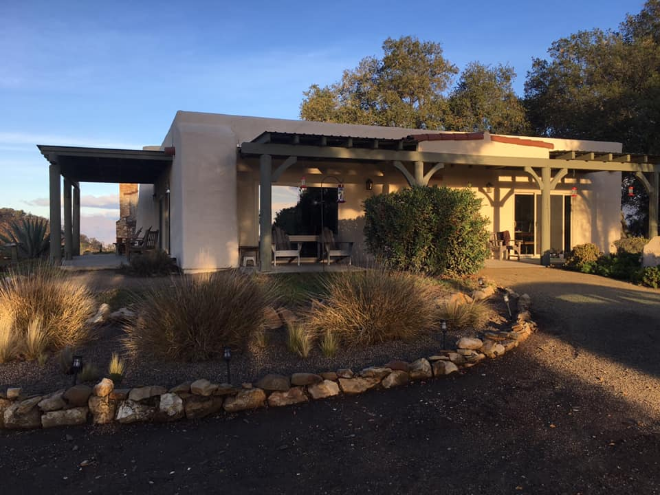 CARETAKER QUARTERS at Meher Mount. This photo was taken by Luis Marroquin, who with his wife Jennifer Navarro-Marroquin, temporarily cared for Meher Mount in November 2018.