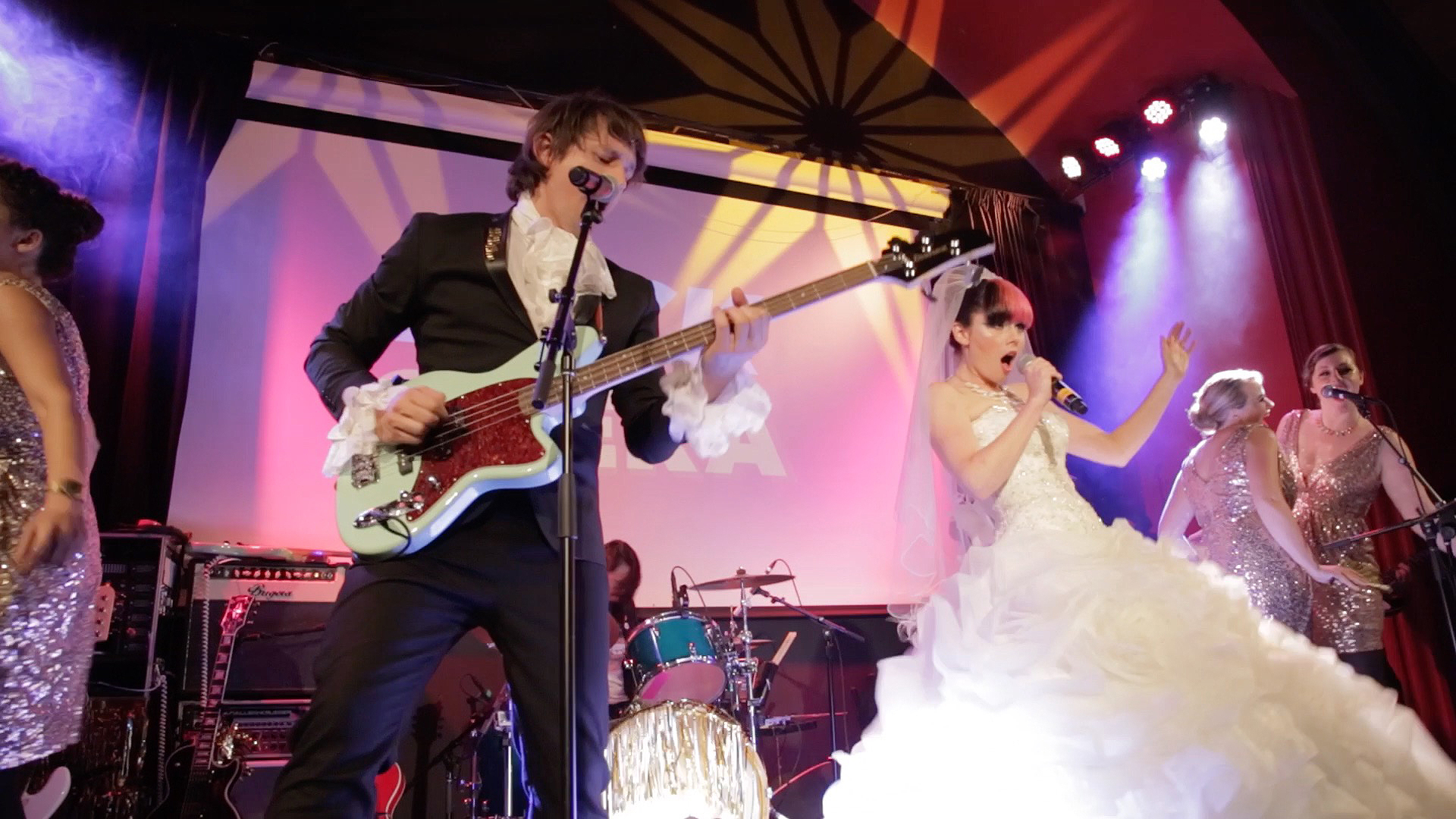 """Love, Jerks"" Rock Opera Wedding"