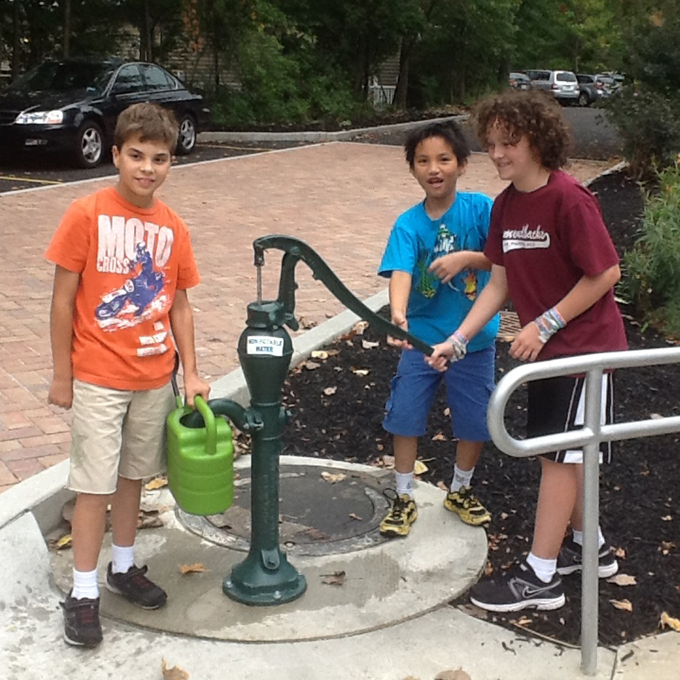 RUFFING MONTESSORI SCHOOL EAST STORMWATER LEARNING LAB